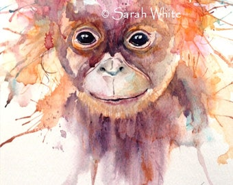 Originl Baby Orangutan now reduced !
