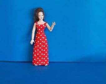 Dollhouse Miniature Wearable Heidi Ott Dress