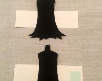 20 Batman napkin rings, Batman party, Batman birthday