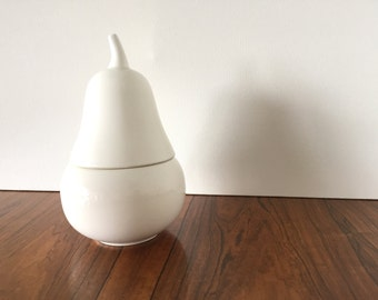 Ceramic Pear Canister
