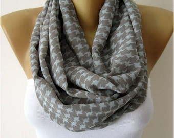 SALE ! 9,90 USD-Infinity Scarf Shawl Circle Scarf Loop Scarf ,Gift scarf -gift Ideas For Her Women's Scarves- for her -Fashion accessori