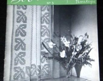 vintage craft book ... THE SOBRITTO BOOK vintage CROCHET booklet ...