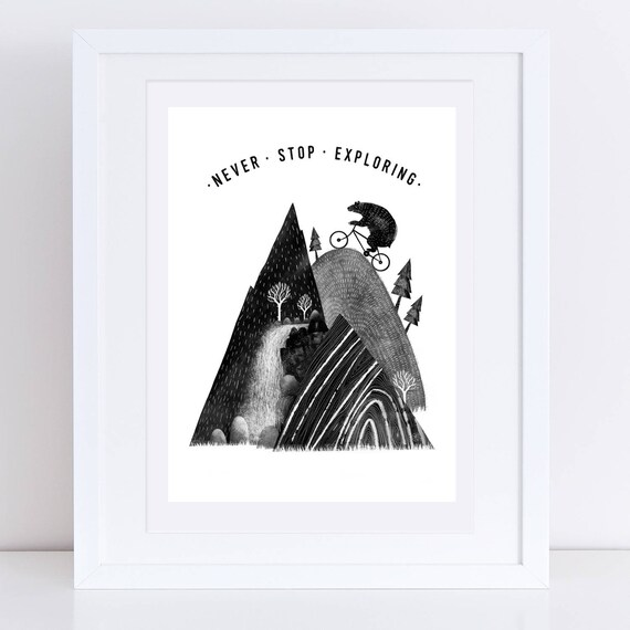 Mountain Bear 2017 - Signed print