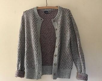 Vintage Land's End Knit Cardigan