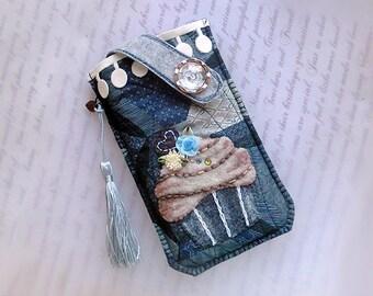 iPhone 8 Plus, iPhone 7 Plus, iPhone 6S plus, iPhone 6 plus, Cupcake pochette pour téléphone portable
