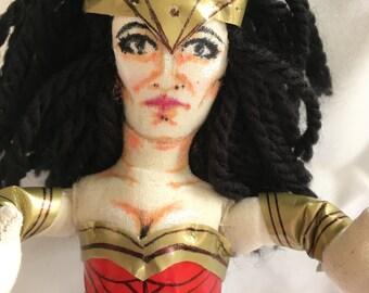Wonder Woman Doll by Diva Dollies