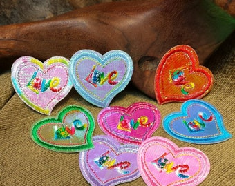 Shiny Heart Love Patch