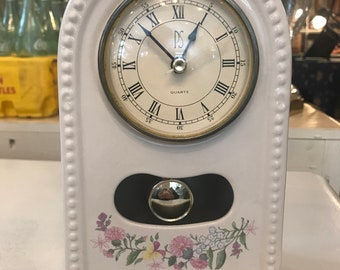 Vintage Paul Sebastian Limited Ed 1994 Quartz Mantel Clock
