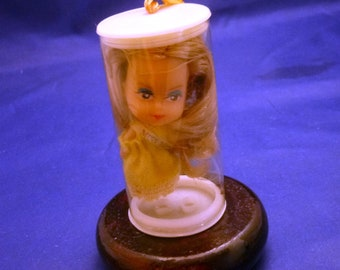 Vintage Miniature Miss Belgium Made in Hong Kong Collectible Doll, 1960s