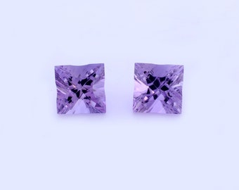 Amethyst Square cut gemstone,Jewellery,Loose Gemstone