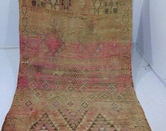 "Moroccan vintage berber rug''area rug""tapis marocain''teppich 303x152 cm"
