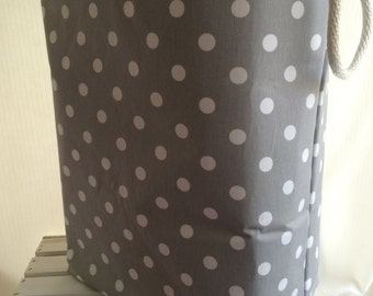 Laundry Hamper, Toy Storage, Storage bin, for the Nursery Chevron 12 x 10 x 20  Choose your colors water repellent linings available