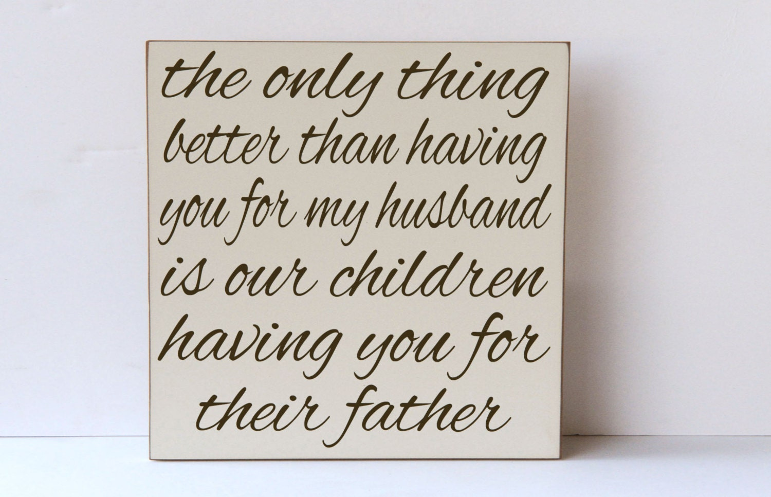 Father Wood Sign Gift For Fathers Day Wall Art For