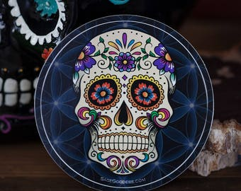 Custom SG Day of the Dead Stickers