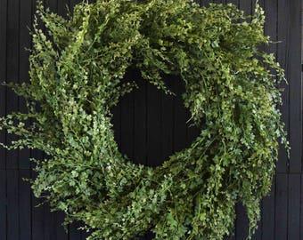 """Artificial Ivy Wreath - XL 26"""" Diameter"""