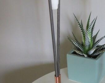 Modern Metal Rod Candlestick (Single)