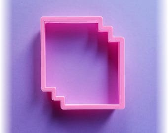 3 Sheets Of Paper or Notebooks Cookie Cutter