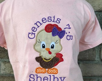 Personalized PICK ANY Farm Cutie Hen OR Rooster Shirt