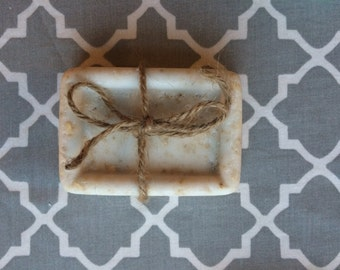 All Natural Moisturizing Lavender and Frankincense Bar Soap