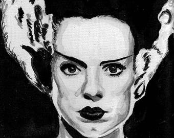 Bride of Frankenstein print 5x7
