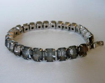 Bracelet Grey Rhinestone Royal of Pittsburg