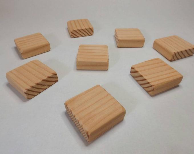 Wood Blocks / 2 Inch Square / Wooden Blocks / Unfinished Wood Blocks / Building Blocks / DIY Baby Block/ Baby Shower Activity / Craft Blocks
