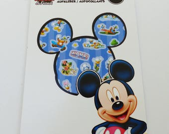 250 Mickey and friends on 4 sheets stickers stickers
