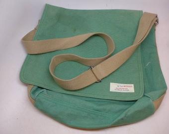 Vintage Messenger Bag - Canvas Messenger Bag - Gap Messenger Bag