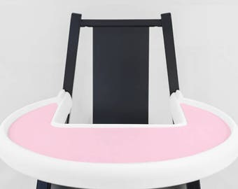 Taffy Pink // IKEA Blames Highchair Silicone Placemat // High Chair Place Mat