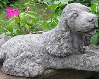 Cocker Spaniel Dog Statue (Large)