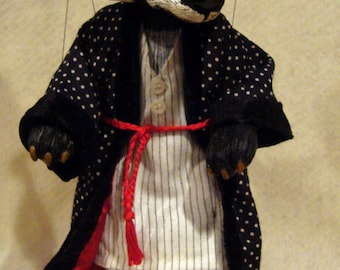 Badger Marionette, Wind in the Willows Character / MADE -TO-ORDER