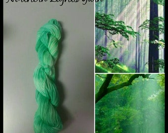 Glade hand-dyed cotton yarn