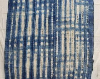 Indigo fabric mudcloth