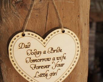 Father Of the Bride Gift, Thank you Dad Gift