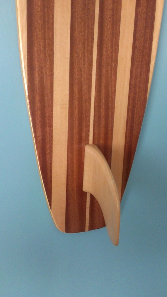 Wooden Surfboard Wall Art