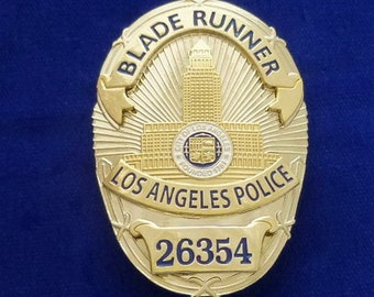 Blade Runner 2019 Police Badge