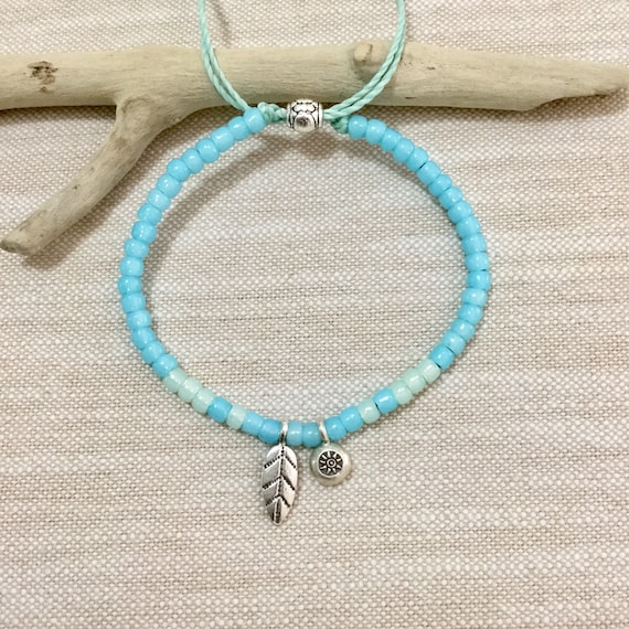 beach jewelry, hill tribe silver bracelet