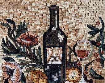 Mosaic Designs- Vino Astratto