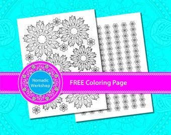 Coloring pages for adults printable Pattern coloring pages for adults Printable coloring pages Coloring Page free Floral coloring pages