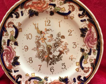Mason's Mandalay Wall Clock, Plate 10.5 cm