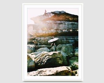 Made-to-order Aerial Beach Bondi Water Photography Wall Art Prints