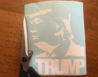 Decal stickers Donald Trump 3