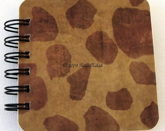 Animal Print - Post It Note Holder Planner