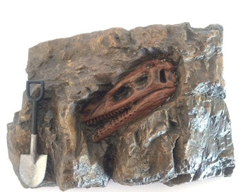 Rock Fossil Miniature Australopithecus Human Like