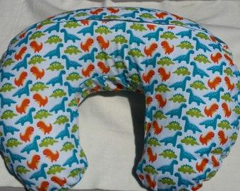 Dinosaur Nursing Pillow Cover