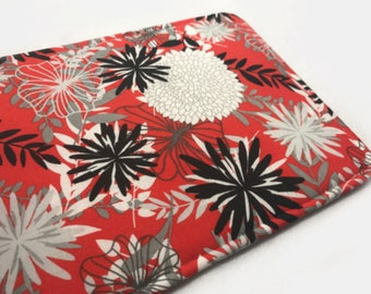 Red Black Floral Nook Glowlight 3 case Nook Glowlight Plus case Nook Glowlight Plus case Nook Glowlight Nook Simple Touch