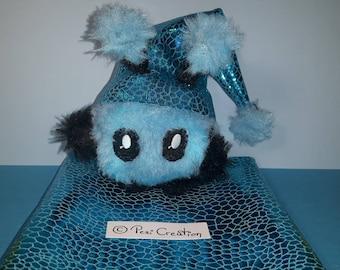 cute Mimi Plushie blue Hood