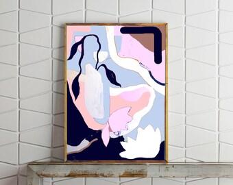 Rivers / Art Print of Original Painting