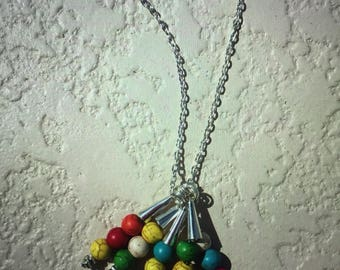 Necklace Fashion Color/ Metal beads