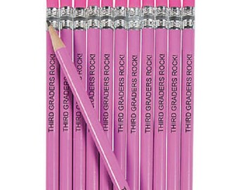Pencil Gift Set, Quote Pencils, Custom Name Pencils, Custom Pencils, Engraved Pencils, Personalized Pink Pencils, Custom Pencils Set